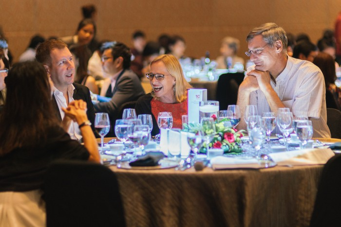 Guests at RADION's 10th Anniversary & Fundraising Dinner: RADIATING MISSION