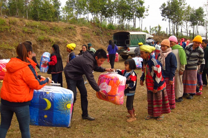 DRO3 - Distribution of relief aid by RADION