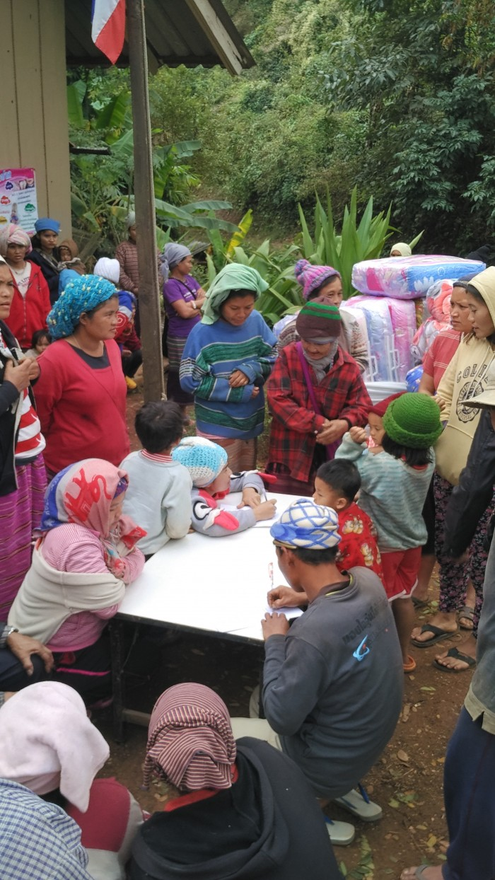 DRO4 - Working alongside village leaders to get aid to needy families