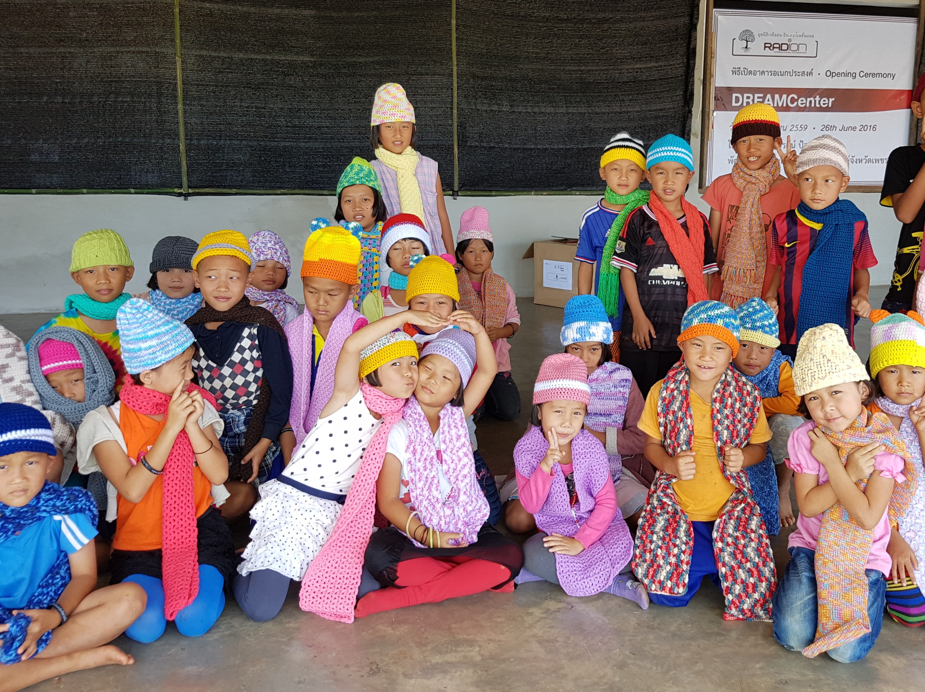 Press Release Singaporeans Knit Winter Clothes For Children In